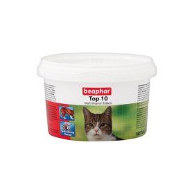 Beaphar Top 10 multivitamini za mačke, 180 tableta