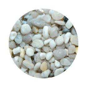 BioAqua Kvarcni Bijeli šljunak obli 4-8 mm 2,5 kg