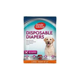 Simple Solution pelene za pse Disposable Diapers, gaćice L