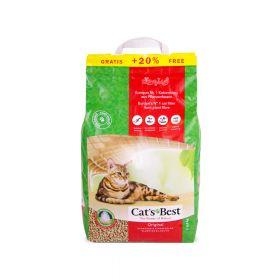 Cat's Best Original posip za mačke 4,3 kg+0,9 kg gratis