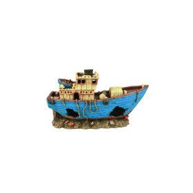 Dohse Hobby ukras za akvarij brod MS Arkona, 29x11x17 cm