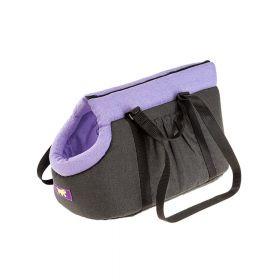 Ferplast torba za pse Borsello S ljubičasta