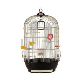 Ferplast krletka za ptice Diva Antique Brass