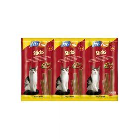 FIT+FUN poslastica za mačke štapići perad i jetra 50 g