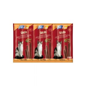 FIT+FUN M poslastica za mačke štapići puretina i janjetina 50 g