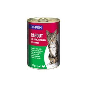 FIT+FUN Ragu divljač, perad i mrkva 415 g konzerva
