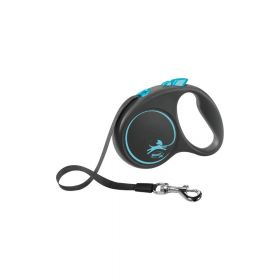 Flexi Black Design L traka 5 m plava