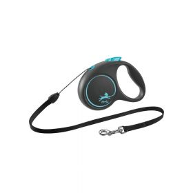 Flexi Black Design M uže 5 m plava