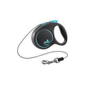 Flexi Black Design XS uže 3 m plava