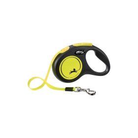 Flexi New Neon S traka 5 m neon žuta