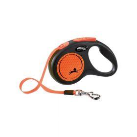 Flexi New Neon M traka 5 m neon narančasta