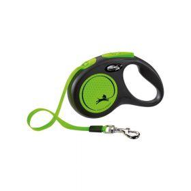 Flexi New Neon M traka 5 m neon zelena