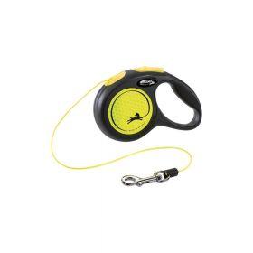 Flexi New Neon XS uže 3 m neon žuta