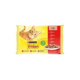 Friskies Cat Multipack meso u umaku 4x85g