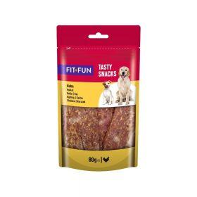 FIT+FUN poslastica za pse piletina 80 g