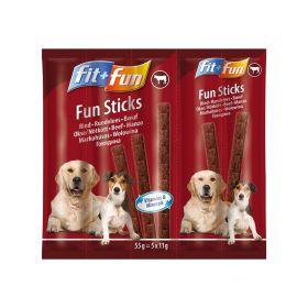 FIT+FUN poslastica za pse štapići govedina 55 g