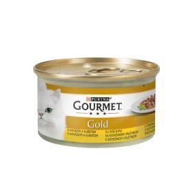 Gourmet Gold double govedina i piletina 85 g