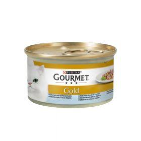 Gourmet Gold riba i špinat 85 g