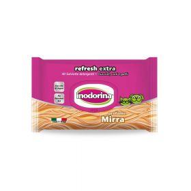 Inodorina Refresh Extra Myrrh vlažne maramice, 40 komada