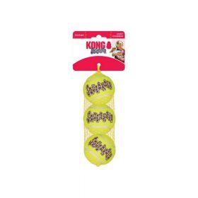 Kong igračka za pse Air Squeaker Tennis Ball Medium, 3 komada