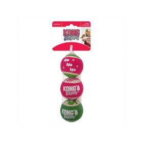 Kong igračka za pse božićna SqueakAir Ball Medium