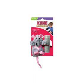 Kong igračka za mačke Refillable Catnip Rat