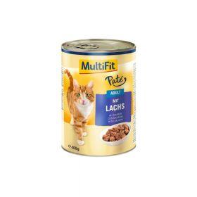 MultiFit Cat Adult losos 400 g, pate konzerva