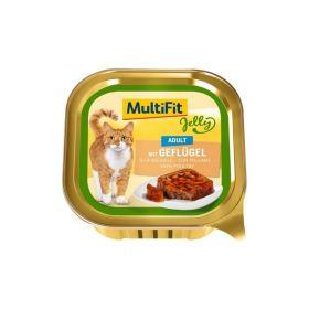 MultiFit Cat Adult perad u želeu 100 g ALU-pak