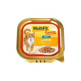 MultiFit Cat Adult Ragu piletina 100 g ALU-pak