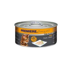 Premiere Cat Filets piletina 80 g konzerva