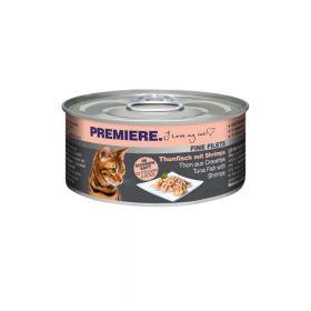 Premiere Cat Filets tuna i škampi 80 g konzerva