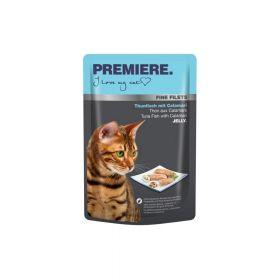 Premiere Cat Filets tuna i lignje 100 g vrećica