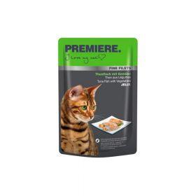 Premiere Cat Filets tuna i povrće 100 g vrećica