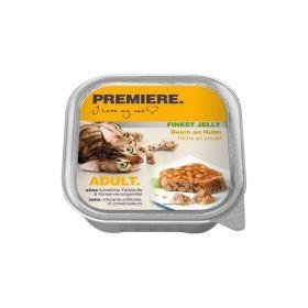 Premiere Cat Adult Finest piletina u želeu 100 g ALU-pak