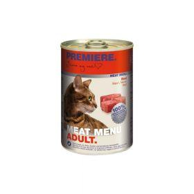 Premiere Cat Meat Menu Adult govedina 400 g konzerva