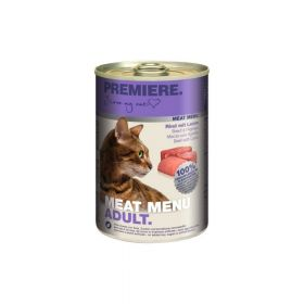 Premiere Cat Meat Menu Adult govedina i janjetina 400 g konzerva