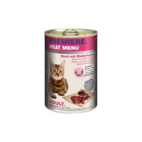 Premiere Cat Meat Menu Adult govedina i srca 400 g konzerva