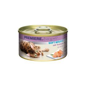 Premiere Cat Mousse puretina 85 g konzerva