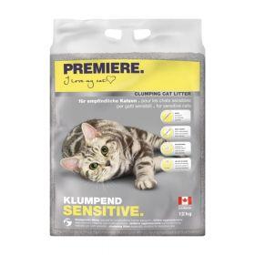 Premiere Sensitive pijesak za mačke, 12 kg