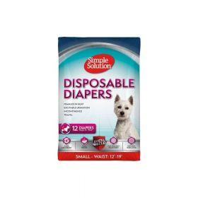 Simple Solution pelene za pse Disposable Diapers, gaćice S