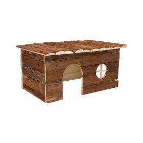 Trixie drvena kućica za glodavce Jerrik 50x25x33 cm