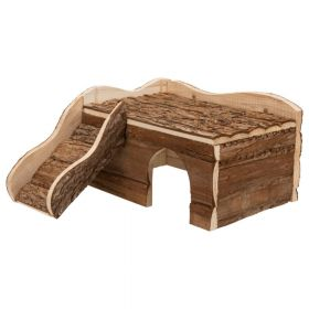 Trixie drvena kućica za glodavce Ineke 30x16x32 cm