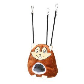 Trixie ležaj za glodavce viseći Cuddly smeđi, fi-11x14 cm