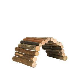 Trixie drveni most za glodavce, fleksibilan 28x17 cm