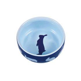 Trixie posuda keramička za glodavce motiv kunić 0,25 l/11 cm