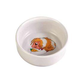 Trixie posuda keramička za glodavce motiv zamorčić 0,25 l