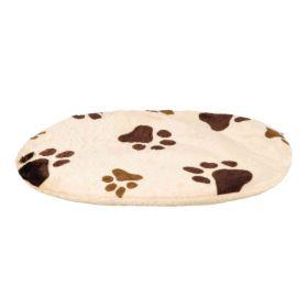 Trixie jastuk za pse Pliš Joey bež uzorak šape 44x31 cm