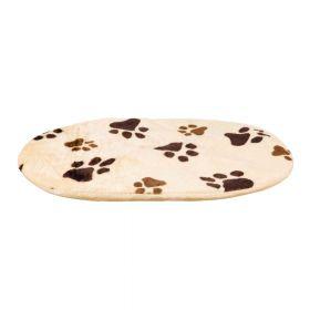 Trixie jastuk za pse Pliš Joey bež uzorak šape 54x35 cm