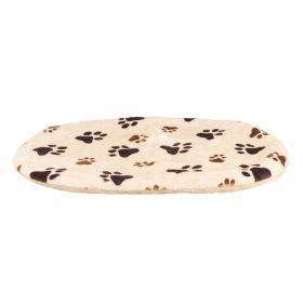 Trixie jastuk za pse Pliš Joey bež uzorak šape 86x56x4 cm