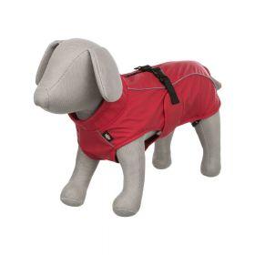 Trixie kabanica za pse Vimy XS crvena, 25 cm